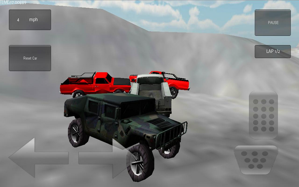 Screenshot 3D Demolition Race Free